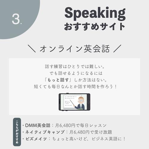 毎日英語を話す!スピーキングおすすめサイト