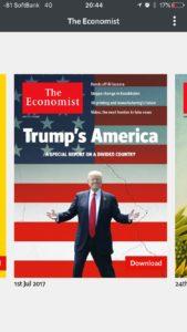 Economist アプリ