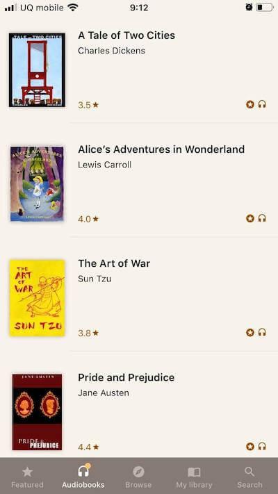 my books アプリ画面1