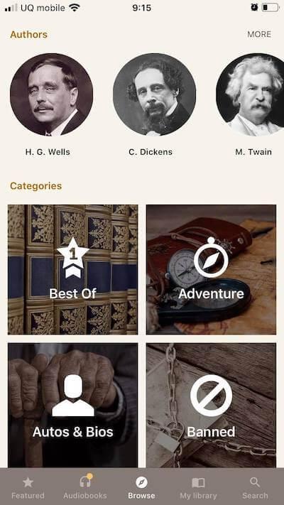 my books アプリ画面2