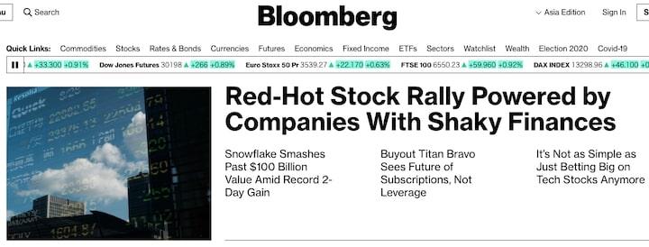 ブルームバーグ(Bloomberg)