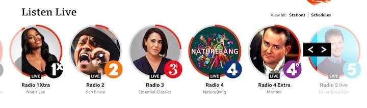 BBC ラジオ Sounds