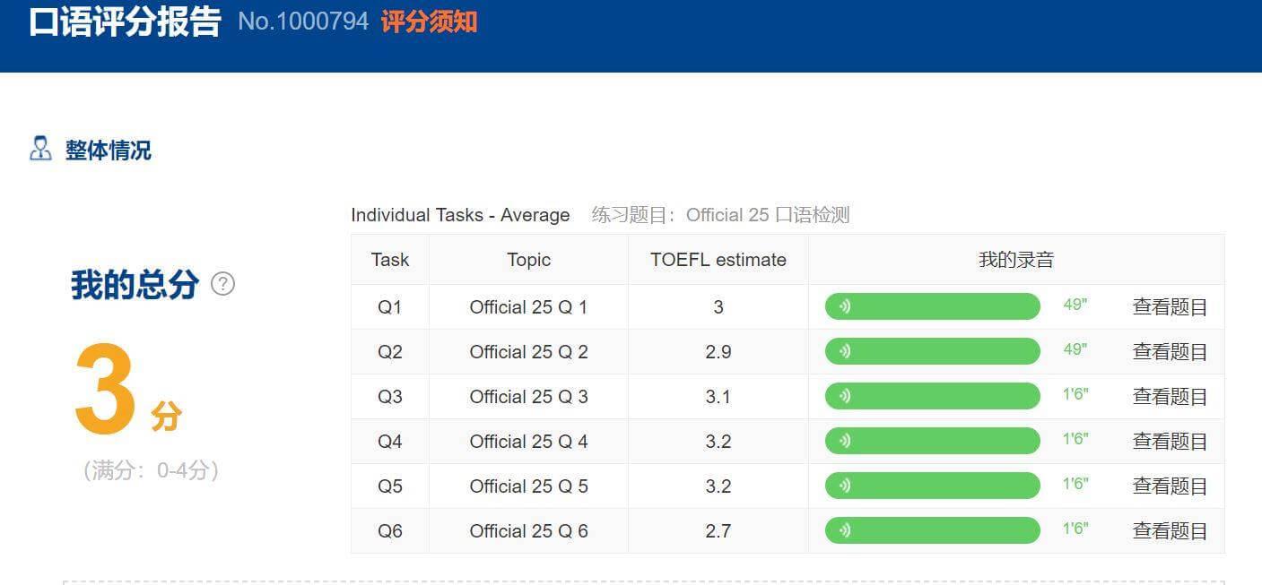 速報】kmf中国TPO完全復活!!スピーキングの自動採点も - 情報