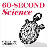 Scientific American Podcast: 60-Seconds Science logo