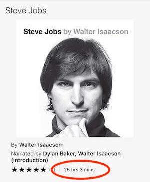 Steve Jobs Audible