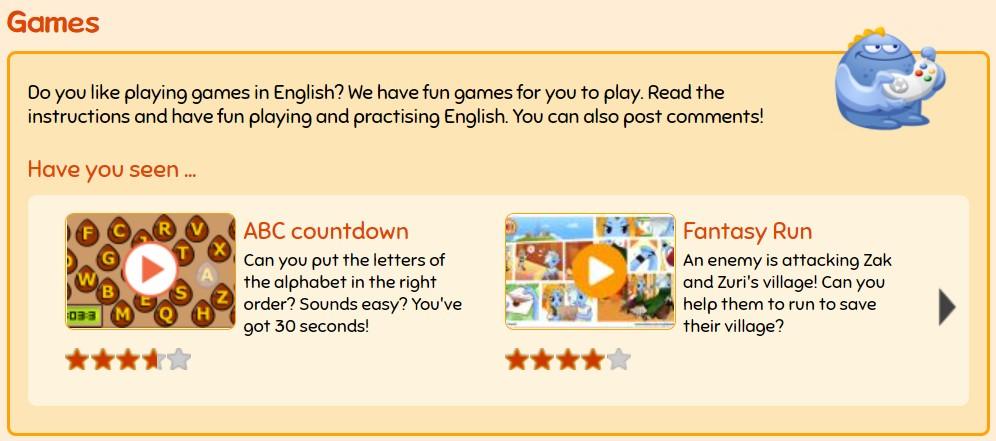 Learn English Kids games