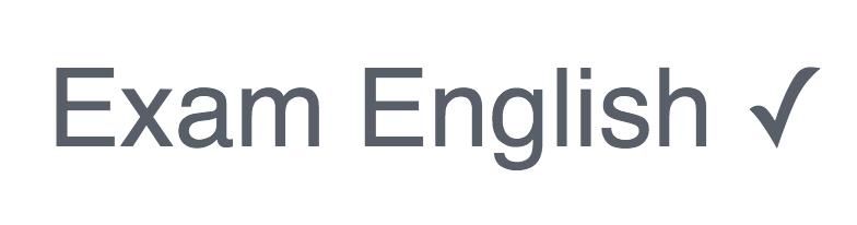 Exam English ロゴ