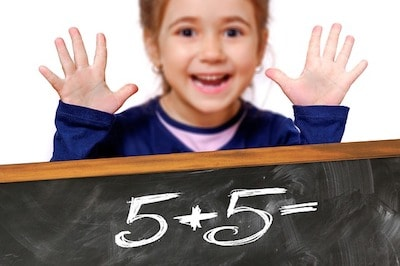 子供と数字