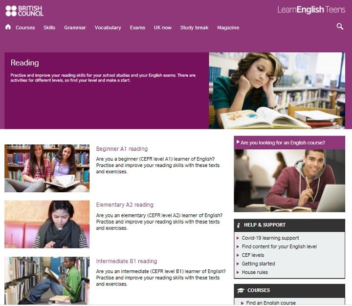 LearnEnglish Teens Reading