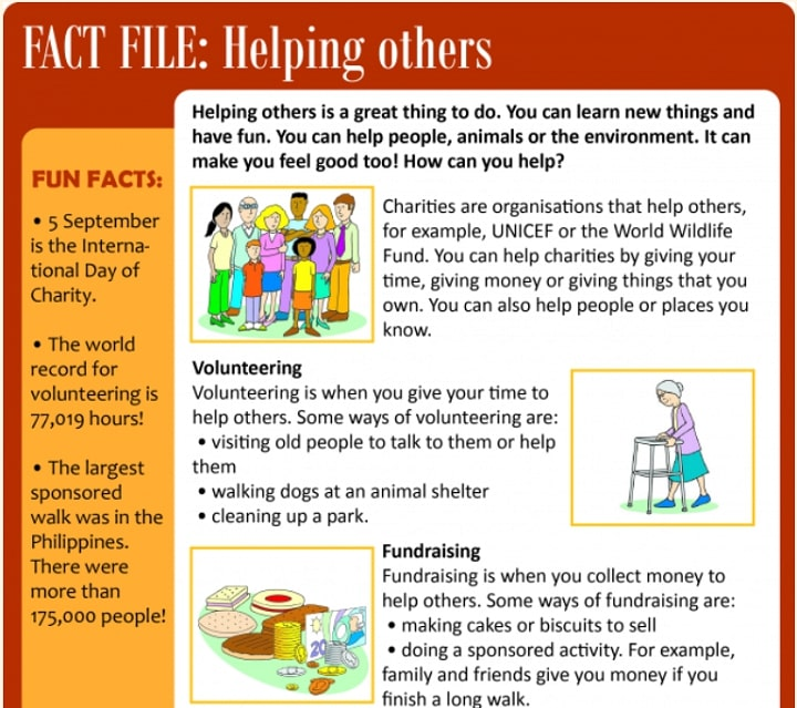 Learn English Kids Reading Example