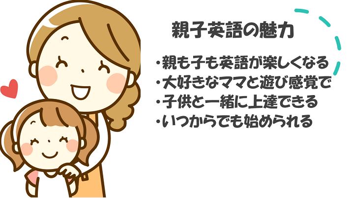 親子英語の魅力