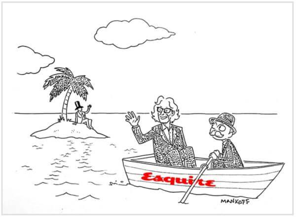 Bob Mankoff 漫画