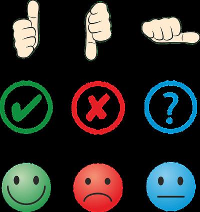positive-negative-choice