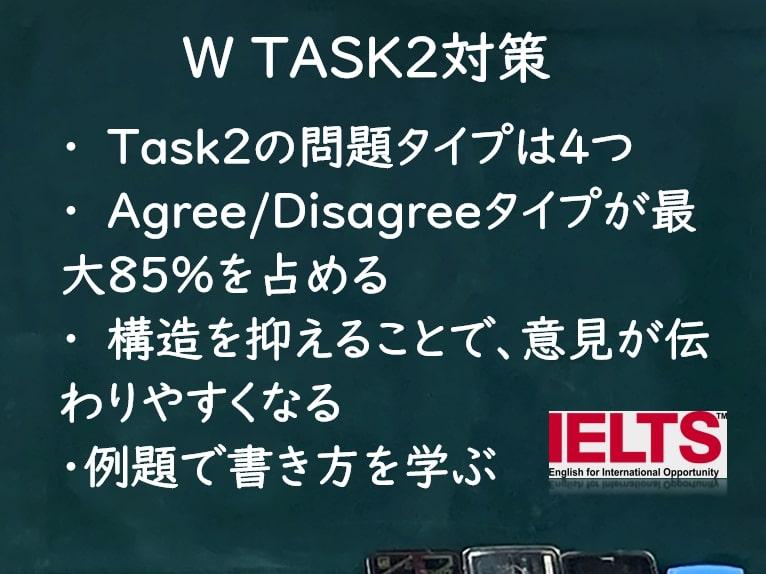 IELTSライティング:Task2対策