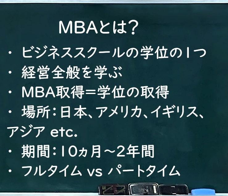 MBAとは?