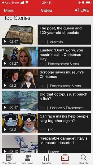 BBC アプリ
