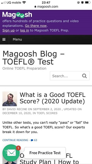 Magoosh TOEFL