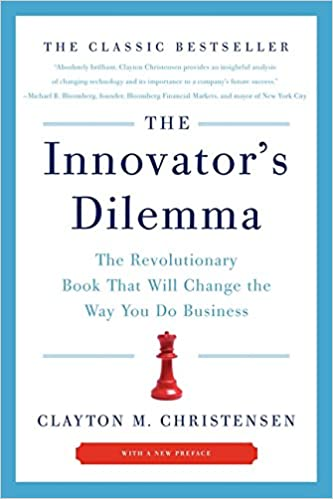 MBA志望者におすすめの本2「Innovator's Dilemma」