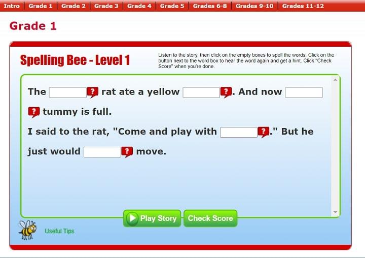 Annenberg Learner  Spelling bee