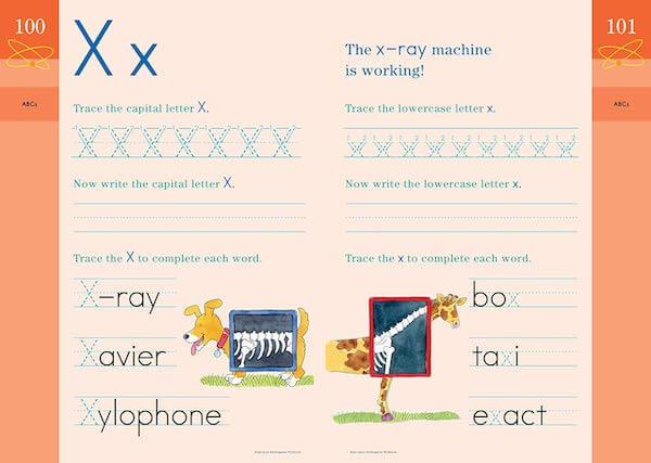 Workbook 例 アルファベット