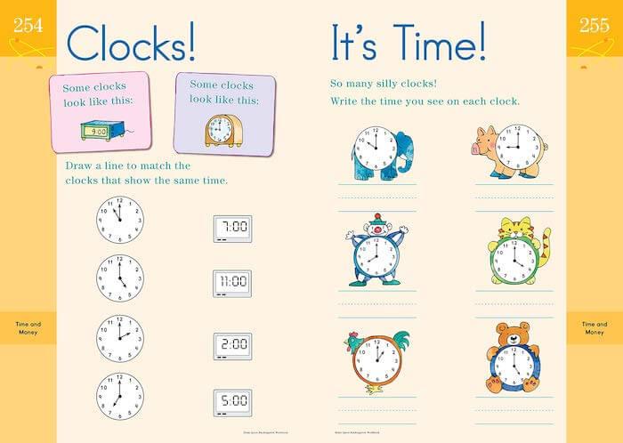 Workbook 例 時計