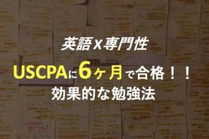 USCPA 勉強方法
