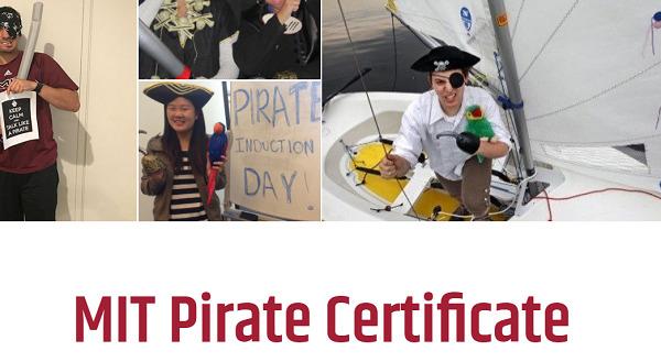 MIT Pirate Certificate