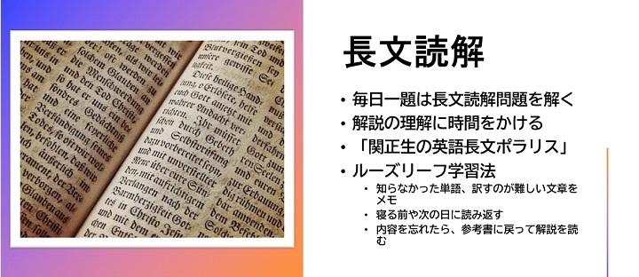 大学受験英語 長文読解