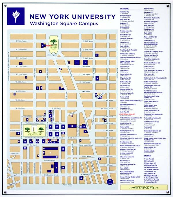ニューヨーク大学 地図