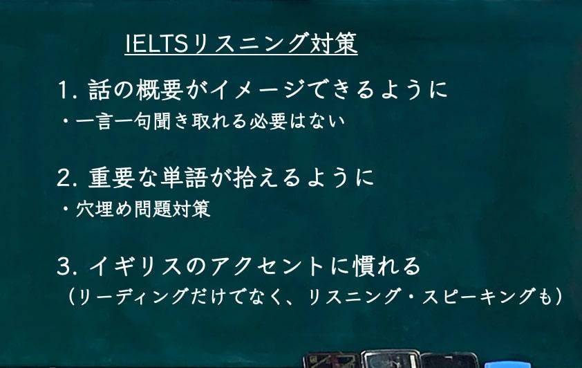 IELTS6.0 リスニング対策