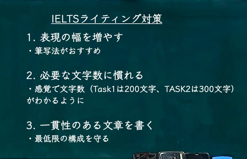 IELTS6.0 ライティング対策