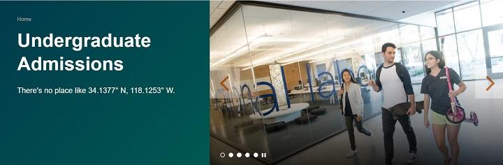 caltech Undergraduate Admissions