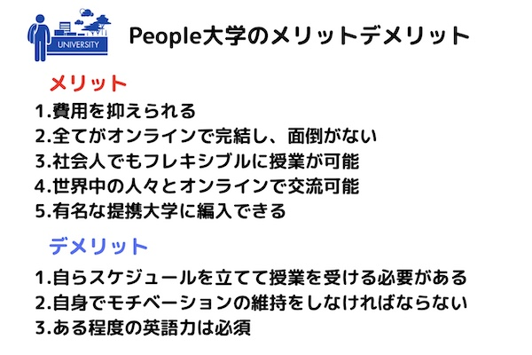 University of the People メリット・デメリット