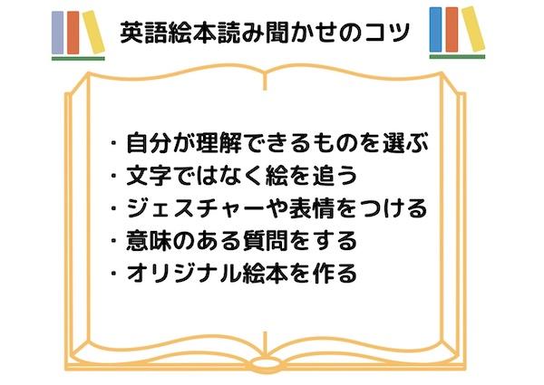 英語絵本読み聞かせのコツ