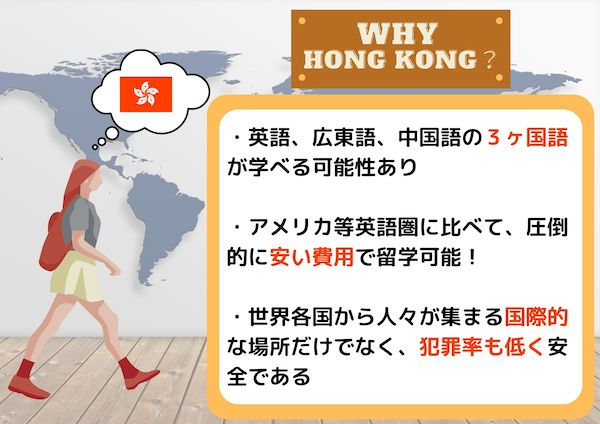 香港留学する理由