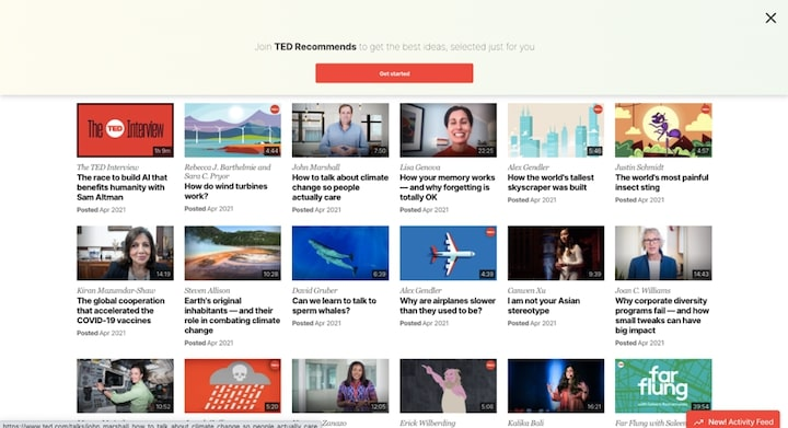 TED Talks 動画一覧