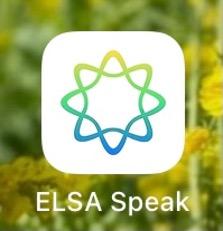 elsa speak ロゴ