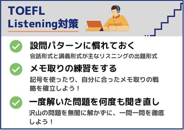 TOEFL リスニング対策